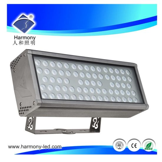 High Power Outdoor Square RGBW 72W Flood Lights