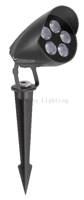 RH-E13 Outdoor Landscape Lighting Fixtures Waterproof Garden Light 9W IP66 Osram GRBW LED Good Quality Spike Lawn Lamp Iluminacion Luninaires