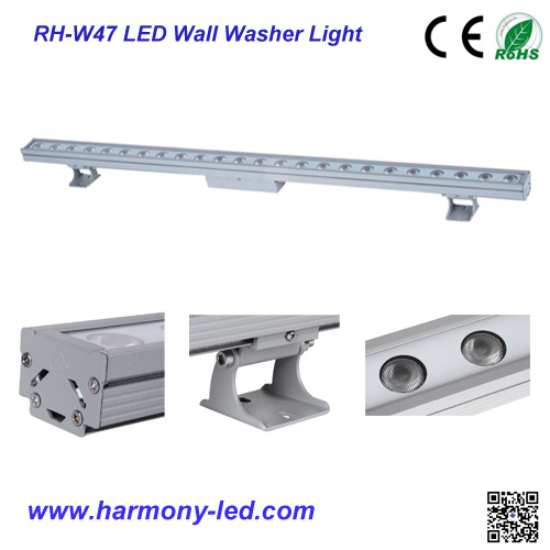 Exterior Waterproof IP65 18W 24W LED Wall Washer Lighting